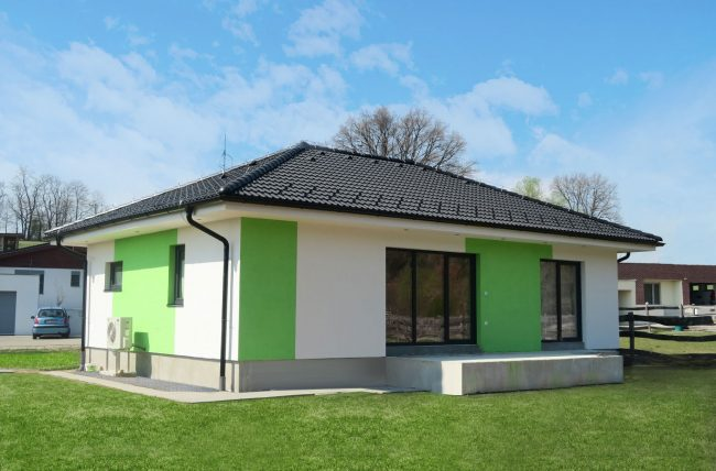 lila, bungalow, projekt domu, drevodom zvolen