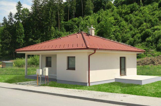 mary, bungalow, projekt domu, drevodom zvolen