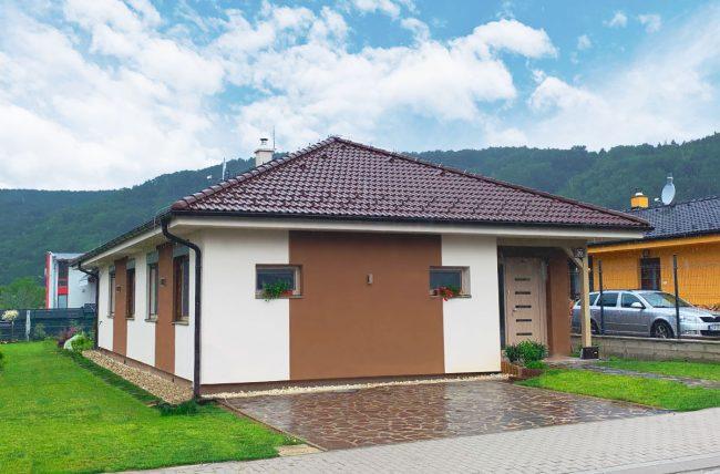 mora, bungalow, projekt domu, drevodom zvolen